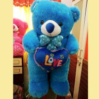 BONEKA TEDDY BEAR LOVE JUMBO 1 METER