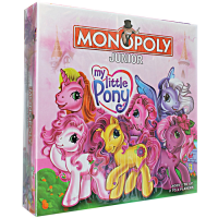 Monopoly Junior My Little Pony - Mainan Monopoly - Ages 5+