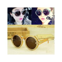 HO2428C - Kacamata Bulat Fashion Arrow ( Orange ) #C54