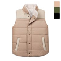 [Moniz] Golden Wool Padding Vest PVT049