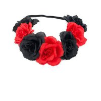 [macyskorea] DreamLily Womens Vintage Rose Flower Wreath Headband Crown For Party Club BC1/16594693
