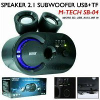 Speaker Aktif Subwoofer Mega Bass M-TECH SB-04