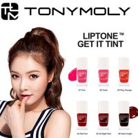 (1+1) TONY MOLY LIPTONE GET IT TINT -REAL VIVID COLORS WITH HYDRATING FINISHED-