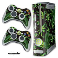 [poledit] 247Skins Designer Skin for Xbox 360 Original Console and Two Controllers - Weeds/12517389