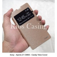 Sony Xperia Z1 C6903 L39H - Candy View Cover Leather Flip Case (Casing Sarung)