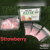 MASKER KEFIR STRAWBERRY BY SYB ORIGINAL