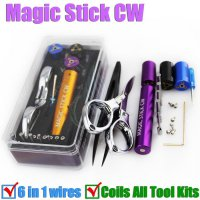 Magic stick / Tang / Pemotong Coil RDA Rokok Eletrik 6 in 1