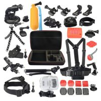[globalbuy] KingMa Transparent Waterproof Case 22-in-1 Accessories Kit for Polaroid Cube 4/2698583