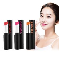 [Made in Korea] Soonsoo Celeb Lipstick 1+1 (red/pink/orange-1 Color) (SS_004)