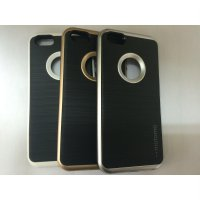 Hard Case Motomo List Crome Iphone 5 5s 5g Iphone5 Casing