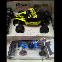 mainan Rc Mobil remote rock crawler buggy king offroad monster truck