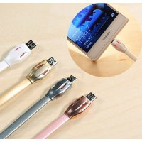 (Fast Charging Cable) Remax Cable Data & Charging Laser Micro USB Snake series - RC035m