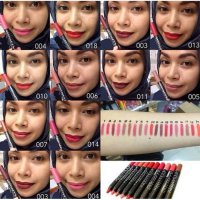 kiss proof soft matte lipstick ecer satuan
