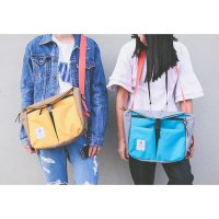 M02 Korea Casual Travel Riding Messenger Bag / Tas Selempang slempang