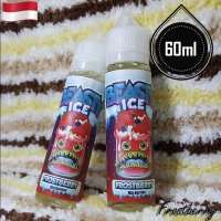 Beasty Ice 60ml Eliquid Vape - Frostberry (Premium Liquid)
