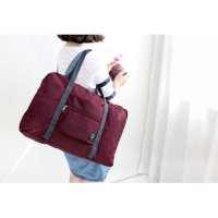 333 Korean Easy Travel Bag foldable Tas travel hand carry