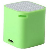 Smart Box Bluetooth Speaker with Wireless Shuter & Anti Lost Alert Function - Green