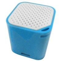 Smart Box Bluetooth Speaker with Wireless Shuter & Anti Lost Alert Function - Blue