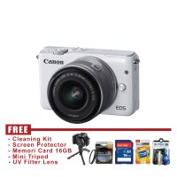 Canon EOS M10 Kit 15-45mm IS STM Putih