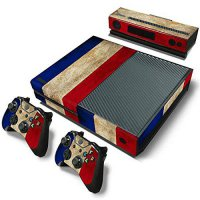 [poledit] Mod Freakz Xbox One Console Vinyl Skin and Controller Skin Red White Blue Wides /12852793