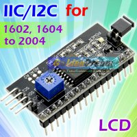 IIC I2C Serial Interface for LCD 1602 to 2004 Backpack Board Arduino