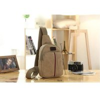 LR07 NEW Tas selempang tas slempang pria sling bag backpack kanvas