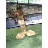 Kostum Renang Putri Duyung (3-6 th), Mermaid Costum