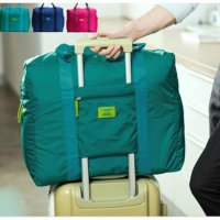 Beli 1 Gratis 1 FOLDABLE TRAVEL BAG /HAND CARRY TAS LIPAT / KOPER LUGGAGE ORGANIZER