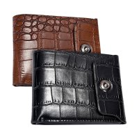 Men Leather Clutch Pockets Wallet ID Bifold Business Credit GRATIS ONGKOS KIRIM