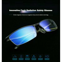 (ORI) Kacamata Safety Glasses Anti Radiasi Komputer Smartphone TV