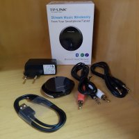 (Dijamin) TP-Link HA100: Bluetooth Music Audio Receiver