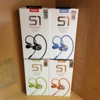 (High Quality) Earphone Sport / Sports Remax RM-S1