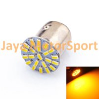Lampu LED Mobil / Motor S25 1157 / BAY15D 22 SMD 3014 Yellow