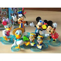 Mainan Boneka figure Disney Mickey Mouse minnie mouse donald Desy gufi