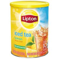 [poledit] Lipton Iced Tea Mix, Decaffeinated Lemon Sweetened 10 qt (T2)/12132063