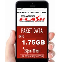 Telkomsel Flash Data Up to 1.75GB (270MB - 750MB + 1GB) BACA Deskripsi [MULLIACELL]