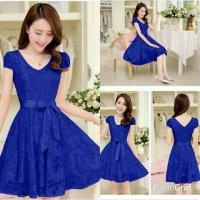 Dress Anggun Brukat 1125R