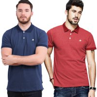 AEROPOSTALE-Mens Short Sleeve Kaos Polo Shirt With Embroidery On Left Chest And Available In 2 Color