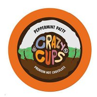 [poledit] Crazy Cups Flavored Coffee, Peppermint Patty Premium Hot Chocolate Hot Cocoa, Si/14291300