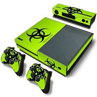 [poledit] FriendlyTomato Xbox One Console and 2 Controllers Skin Set - Biohazard Green - X/13138442