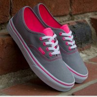 [Diskon] SEPATU VANS AUTHENTIC MULTI POP WOMEN / GREY PINK