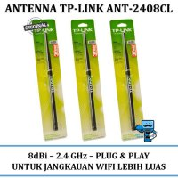 Promo Antenna / Antena Router WiFi Wireless TP-Link ANT-2408CL 8dBi 2.4GHz
