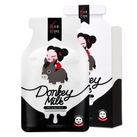 Pucca Donkey Milk Black Mask 25ml (5ea)