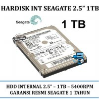Promo Seagate 2.5 Inch 1 TB SATA Internal Notebook Laptop HDD / Harddisk