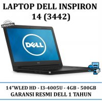 Promo Notebook / Laptop Dell Inspiron 143442- Intel i3-4005u - RAM 4GB