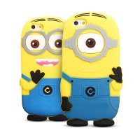 [Free Delivery]Minion 3D lovely phone case for iphone