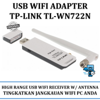 Promo USB WiFi TP-Link 150Mbps High Gain Wireless USB Adapter TL-WN722N