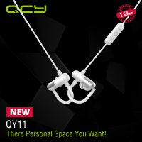 QCY Sport Bluetooth Earphone QY11 White