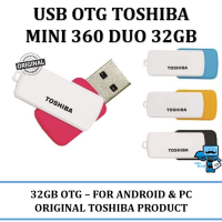 Promo USB OTG Flashdisk Toshiba Mini 360 DUO 32GB USB 3.0 - AndroidWindows