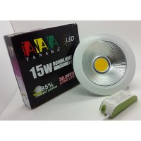 Lampu Ceiling Downlight LED COB 15 watt ( cahaya PUTIH )